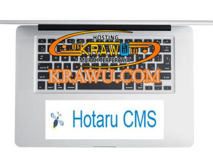 fitur hotaru cms 415x325 » Panduan Cara Mudah Menginstall Hotaru CMS Melalui Cpanel dengan Softaculous