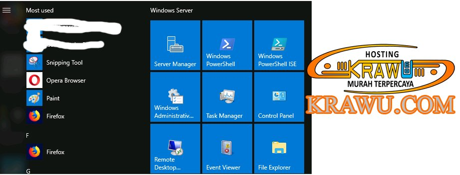 Mengenal VPS (Virtual Private Server) Windows Dan